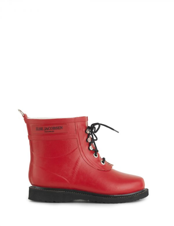 Ilse Jacobsen Rubber Boots Brick Red