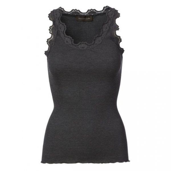 Rosemunde silk vintage lace vest