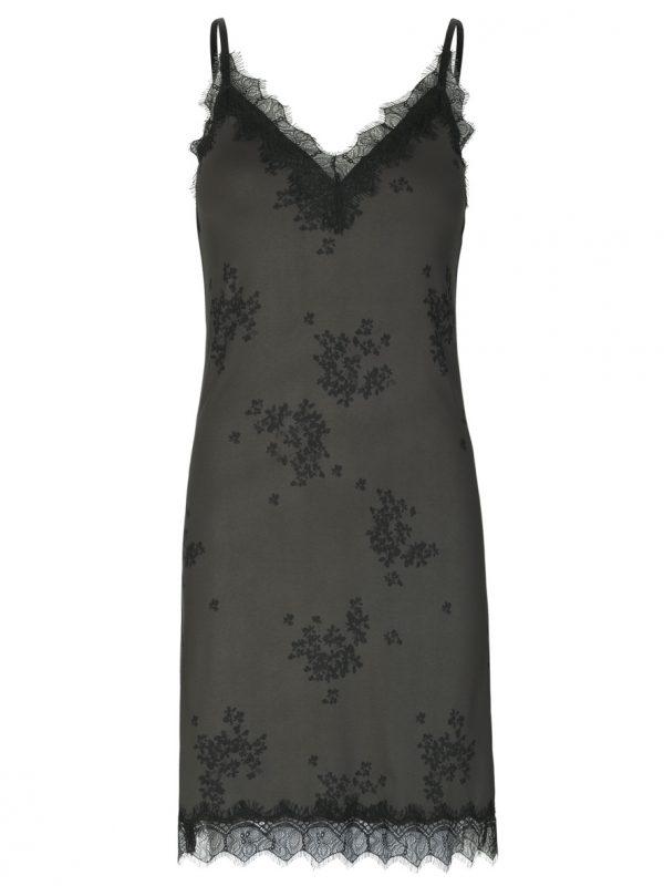 Rosemunde Strap Lace Dress FOREST GREEN