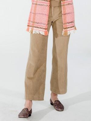 Vilagallo Courduroy Trousers CAMEL